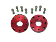 Red Driveshaft Spacers (Front and rear driveshaft) – Samurai, Sidekick & Geo Tracker