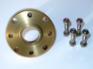 Gold Driveshaft Spacers (Front and rear driveshaft) – Samurai, Sidekick & Geo Tracker